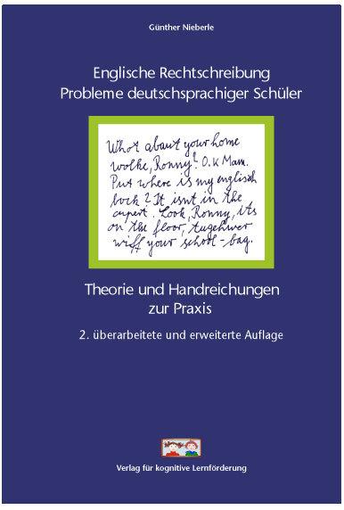 Nieberle: Englische Rechtschreibung, Cover der 2. Auflage